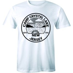 Camp Crystal Lake Estd 1935 New Jersey Men T-shirt